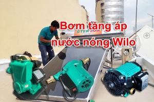 máy bơm tăng áp nước nóng Wilo