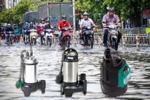 Nên chọn loại máy bơm nào để thoát nhanh nước ngập như hiện nay?
