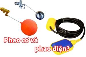 Phao cơ và phao điện nên dùng loại nào?