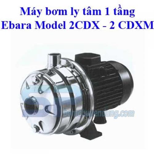 Ebara 2CDX 70/12 1.2HP
