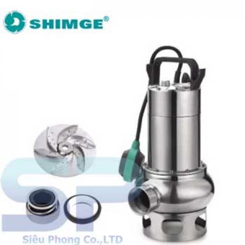 Bơm Chìm Nước Thải SHIMGE WSD75/35T 1HP
