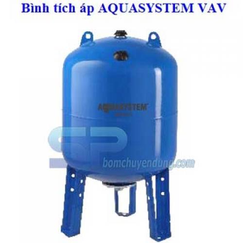 Bình tích áp Aquasystem VAV500 - 500L