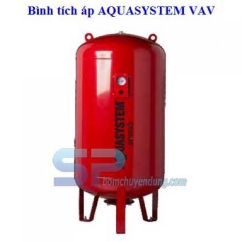 Bình tích áp Aquasystem VAV1000 - 1000L