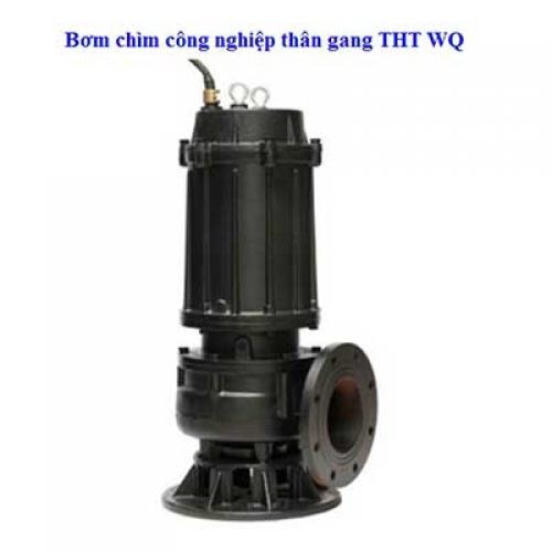 Bơm chìm công nghiệp thân gang THT WQ65-15-5.5 7.5HP