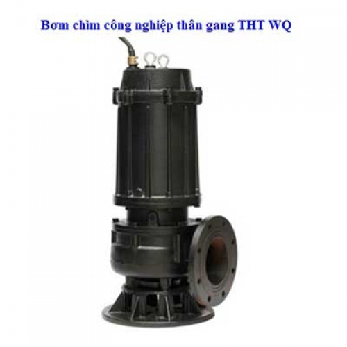 Bơm chìm công nghiệp thân gang THT WQ400-30-55 75HP