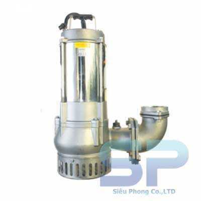 Bơm chìm hút bùn inox SSF250-1.75 26 1HP