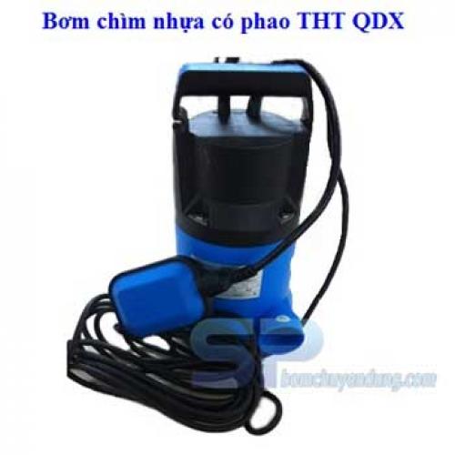 Bơm chìm nhựa có phao QDX-11-12-0.75 1HP
