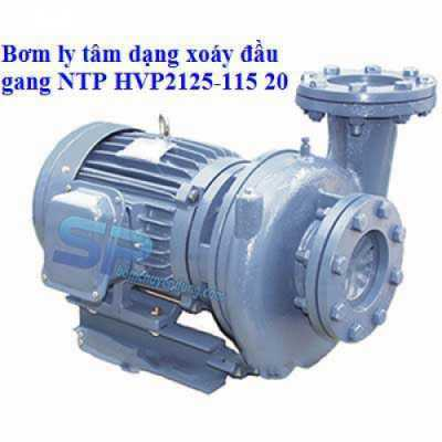 Máy bơm ly tâm dạng xoáy đầu gang NTP HVP2125-115 20 (20HP)