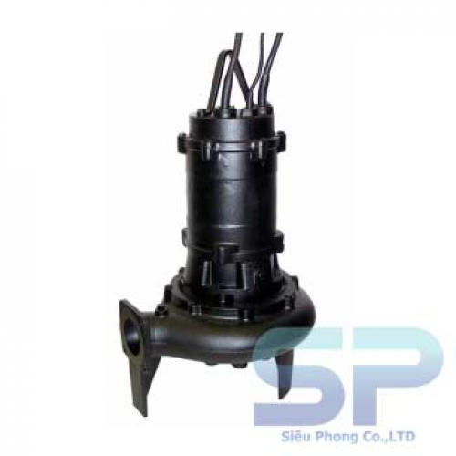 Bơm chìm nước thải EBARA 100 DFA 53.7 5HP