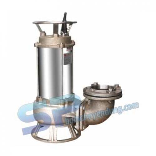 Máy Bơm Hóa Chất Loãng Hố Móng INOX SUS316 EVERGUSH EFS-75T 7.5HP