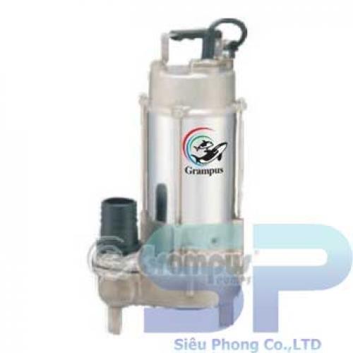 Máy bơm chìm công nghiệp Inox Grampus P-1052 0.5HP