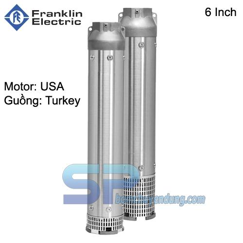 Máy Bơm Hỏa Tiễn 6 Inch Franklin 36SSI05F065-0563 7.5HP