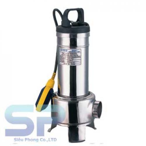 Bơm chìm hút bùn inox THT MVS20-1 2HP