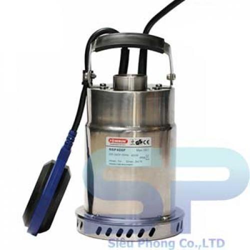 Bơm chìm inox có phao SGP 250 0.3HP