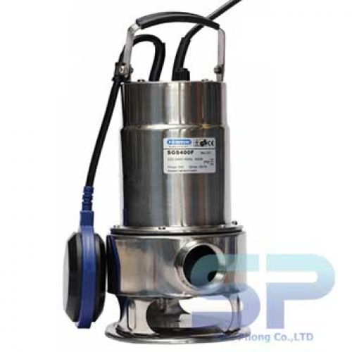 Bơm chìm hút bùn inox SGS 750 1HP